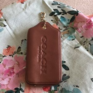 Zippered phone case/small card case